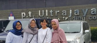 Internship – Joeharny and Aina @ Ultrajaya