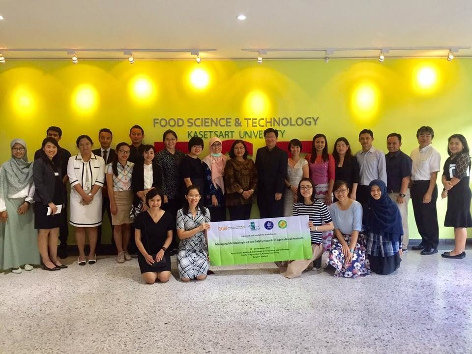 Foodtech Lecturer as Indonesian Delegation on ASEAN Food Safety Workshop