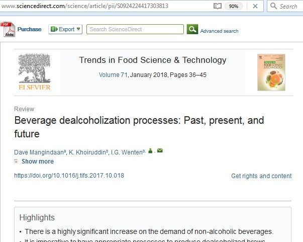 Dave's paper @ Trends in Food Science & Technology