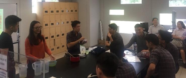 Galaxy shorbet –  Educational outreach pada kunjungan SMA St. Laurensia, Tangerang