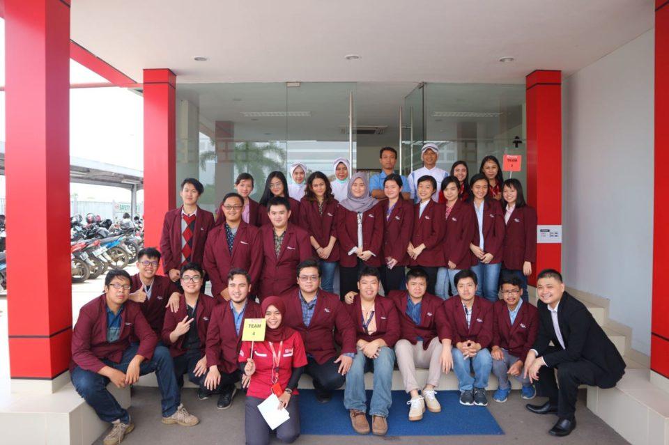 Industrial visit to PT Yamazaki Indonesia