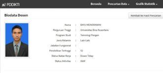 World Food Day @Binus Alam Sutera 1 (education on borax)