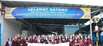 Industrial visit to PT Heavenly Nutrition Indonesia