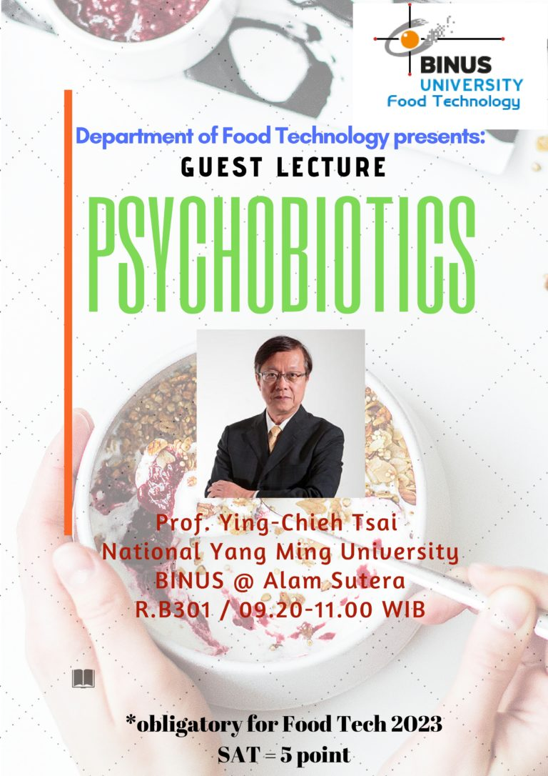 Guest Lecture – Prof. Ying-Chieh Tsai