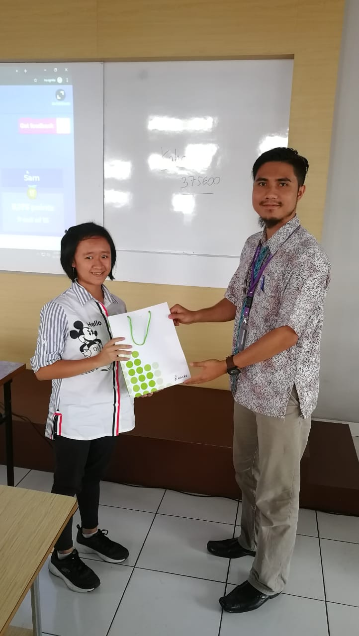 Visitation from SMA Kristen Tritunggal Semarang, October 10 2019
