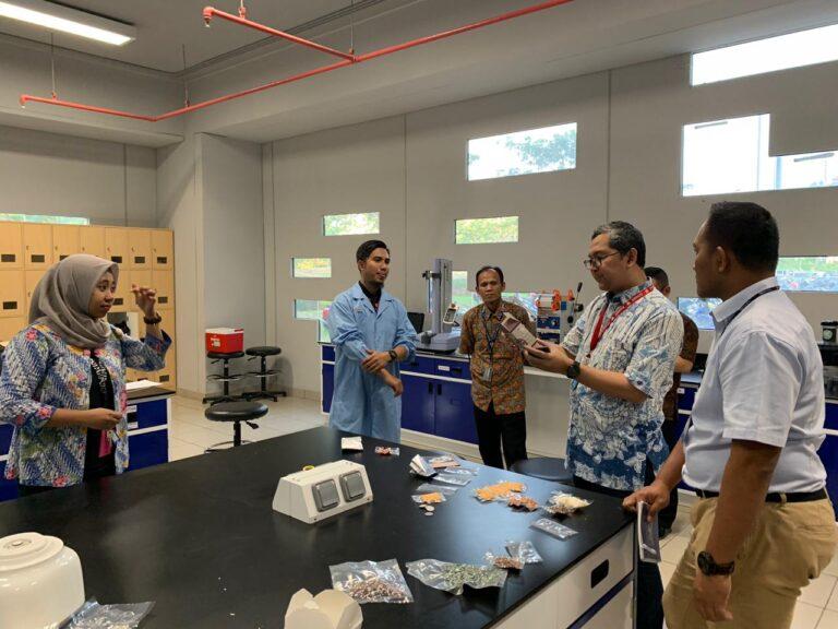 Kunjungan asesor IQA ke Food Tech Binus