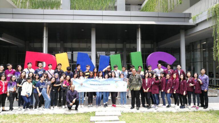 Visitation of Temasek Polytechnic Singapore to Food Technology Department BINUS University